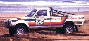 Peugeot 504 4x4 Dangel And Rallye Cars