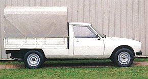 504 Pick-up, in production since 1979