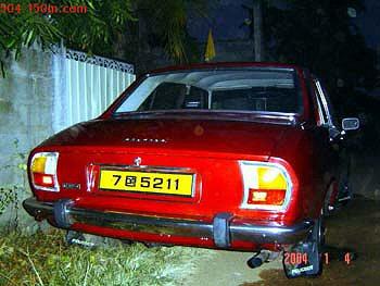 Peugeot 504 in Sri Lanka