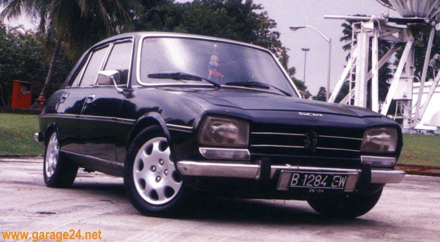 Peugeot 504 In Indonesia